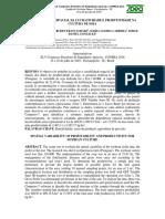 Variabilidade Espacial Da Lucratividade e Produtividade Na Cultura de Soja