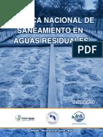 AyA - Politica Nacional de Saneamiento en Aguas Residuales Marzo 2016 - 2045