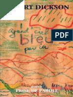 Dickson, R._ Grand Ciel Bleu Par Ici [Extrait]_ Sudbury (1997)