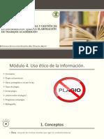 Módulo 4. Uso Ético de La Información (1)