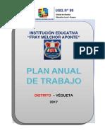 Pat 2017 Ie Fray Melchor Aponte - Vegueta