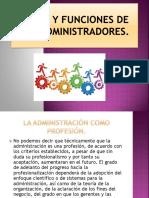 Roles y Funciones de Los Administradores