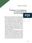 GUATTARI, Félix. Chimères. Pratiques écososophiques et restauration de la Cité subjective