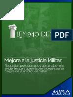 LEY 940 DE 2005