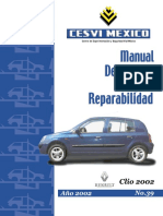 Clio Manual Descriptivo y Reparabilidad