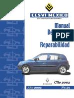Clio Manual Descriptivo y Reparabilidad