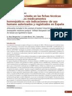 Medicamentos Homeopaticos en España