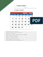 Guia Conociendo Calendario 3 Basico