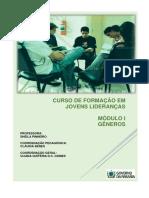 Curso de Formação Em Jovens Lideranças Módulo i Gêneros