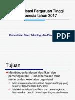 Pemeringkatan PT 2017