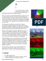 Modelo de Cor RGB