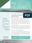capacity building series - culturally responsive pedagogy