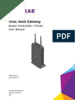 VEVG2660 User Manual