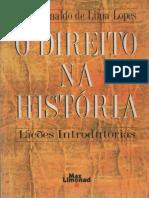Direito Na Historio Introducao