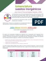 Nomenclatura Compuestos Inorganicos