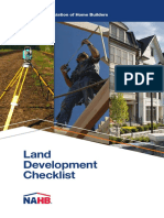 Land Development Checklist