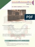 EL PERÍODO DE ENTRE GUERRAS (1919-1939)