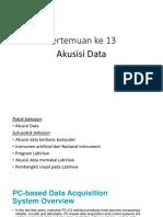 Akusisi Data