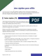 Sifilis - Manual Aula 8