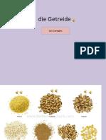 Die Getreide