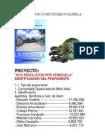 Proyecto Socio Comunitario Pasarela Bellavista