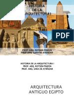 Arquitectura Antiguo Egipto