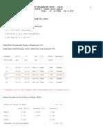 Flare Calculation