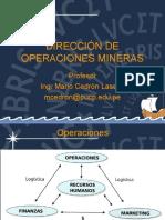 Direccion de Operaciones Mineras