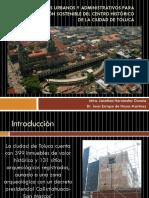 Nuevos Enfoques Urbanos y Administrativos Para La Administración Presentacion
