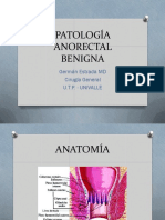 Patología Benigna Anorectaldr Estrada