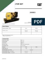 Cat Diesel DE88