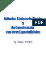 2 Criterios Básicos de Diseño y de Coordinación Con Otras Especialidades