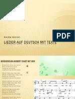 Lieder Auf Deutsch Mit Texte