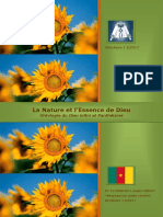 Brochure N° 1 - Ontologie - La Nature de Dieu