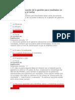 Cuestionario Situación de La Gestión Para Resultados en América Latina y El Caribe
