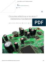 Circuitos Elétricos e Os Seus 7 Elementos Fundamentais