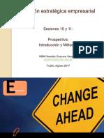 Estrategia Sesiones 10, 11 y 12