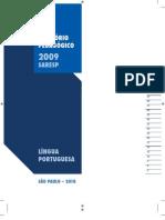 SARESP - RELATÓRIO PEDAGÓGICO PORTUGUÊS - 2009_2010