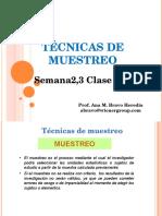 Sem2,3clase 3-6 Tecnicas de Muestreo2008I