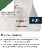 Chapter I -Professionalism