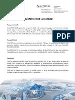Comparación Civil CAD vs AutoCAD Civil 3D
