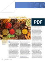 Spicing Food Formulary