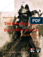 The Comprehensive Equipment Manual (PREVIEW) (12168357)