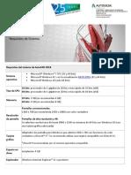 AutoCAD 2018 - Requerimientos de Sistema