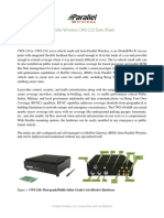 Paralle Wireless CWS-210 in-Vehicle Data Sheet