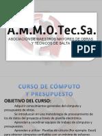 Curso de Computo y Presupuesto.