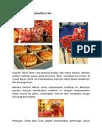 Sejarah Perayaan Tahun Baru Cina