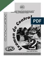 2doexamendecontrolciclo2014 II