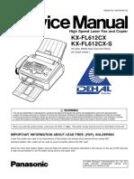 KX FL612CX Manual