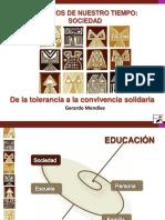 2. Mto. Gerardo Mendive - De La Tolerancia a La Convivencia Solidaria